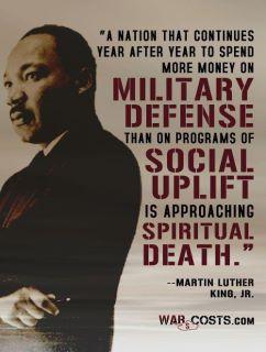 MLK spiritual death