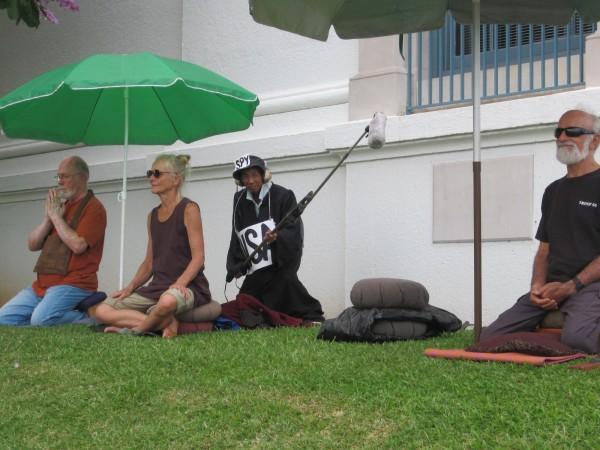 Hilo peace vigil