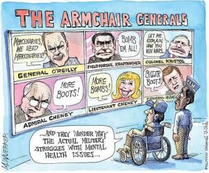 armchair generals