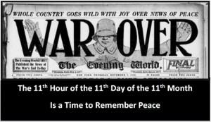 war over