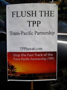 TPP flush