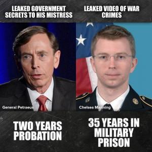 Petraeus & Manning