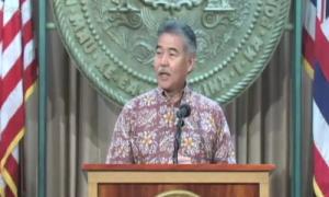 May 26, 2015 Ige on Mauna kea