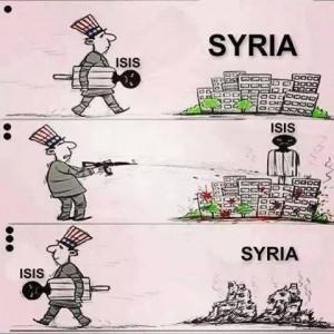 Syria -ISIS cartoon