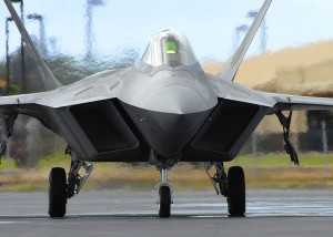 A Hawaiian Aloha for F-22 Raptors