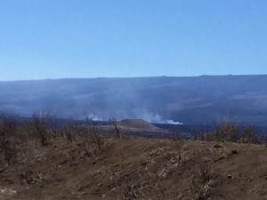 March 28, 2016 brush fire at Pohakuloa
