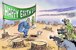 Sham Earth Day