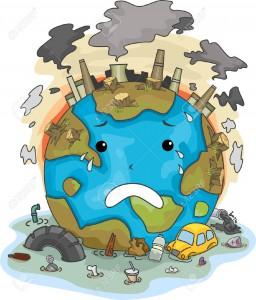 earth crying