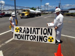 July 16, 2016 Radiation monitoring at Hilo pier